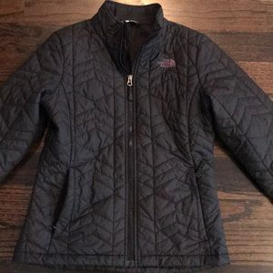 North Face puffy jacket.